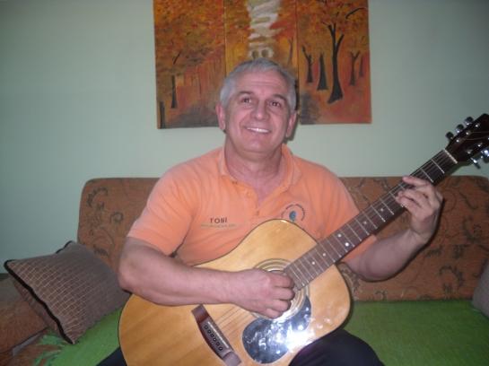 orange gitara
