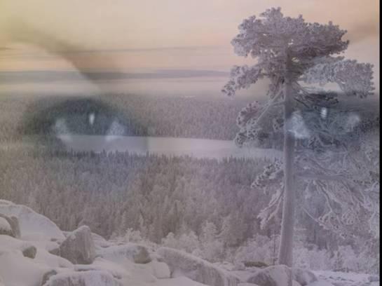 zamatene oči